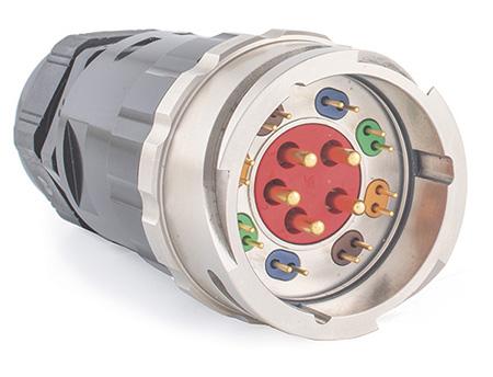 Dual + 5-pin Power