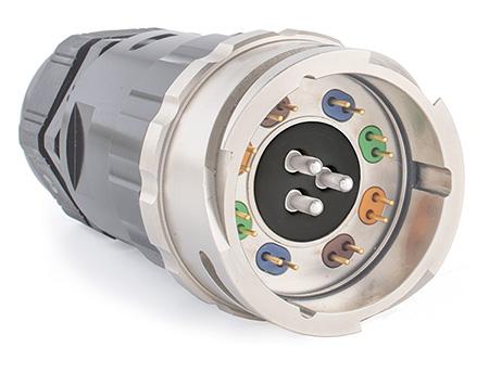 Dual + 3-Pins 32A Power